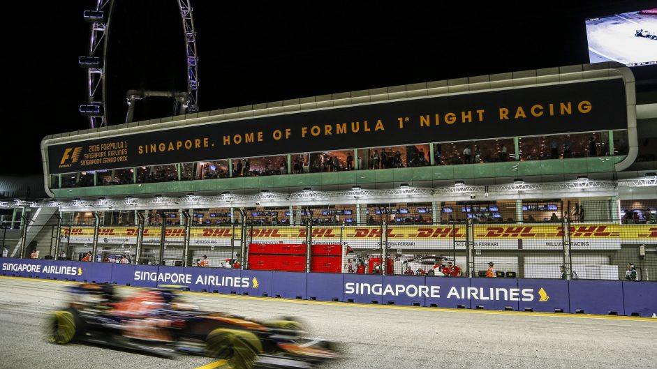 Carlos Sainz Jnr, Toro Rosso, Singapore, 2016