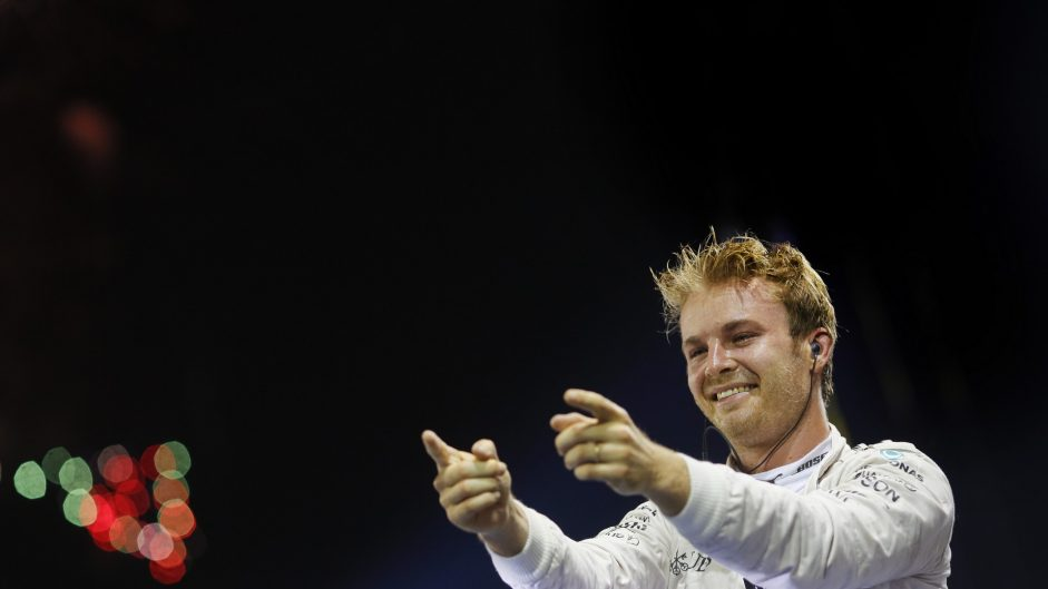 Narrow Singapore Driver of the Weekend win for Rosberg