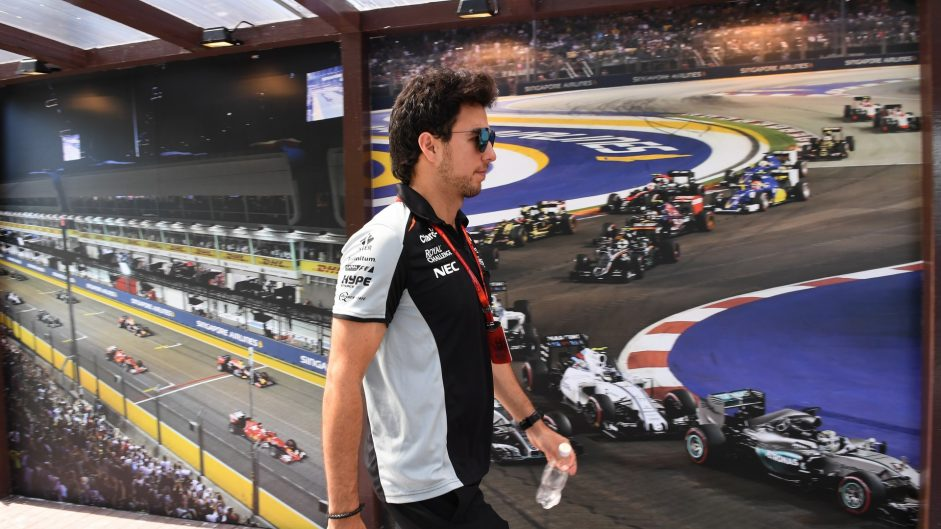 """Perez fumes at """"inconsistencies"""" after double penalty"""