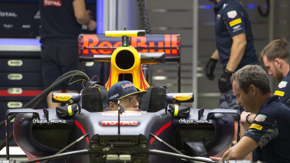 Max Verstappen, Red Bull, Singapore, 2016
