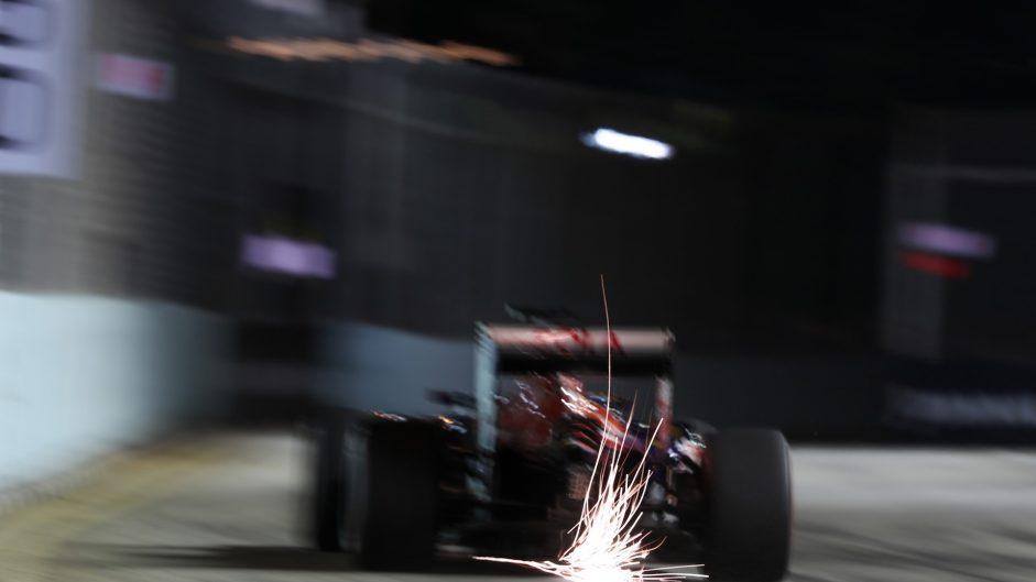 Daniil Kvyat, Toro Rosso, Singapore, 2016