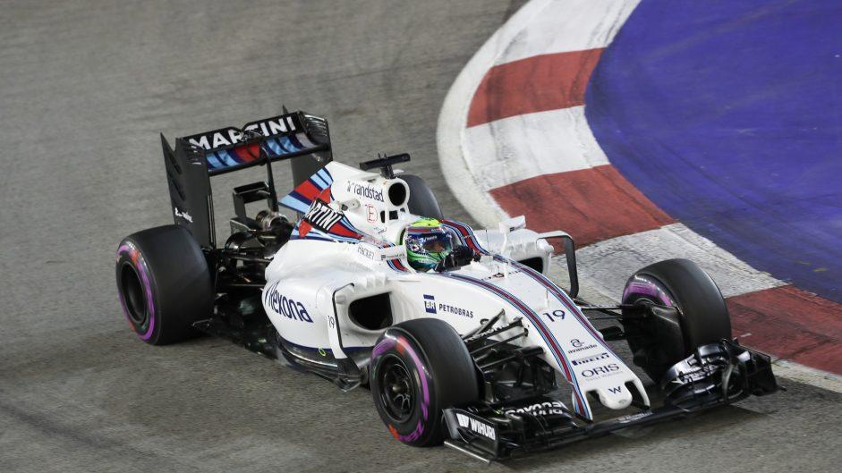 Felipe Massa, Williams, Singapore, 2016