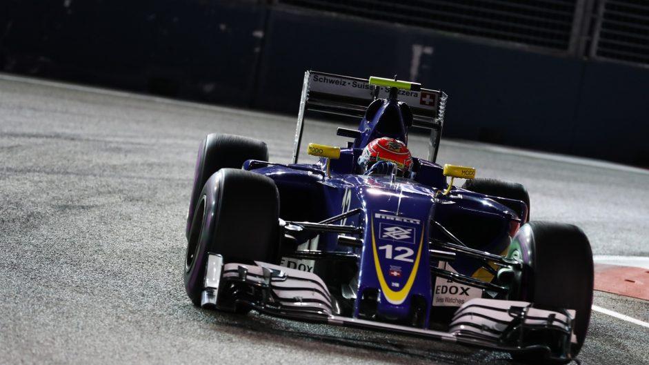 Felipe Nasr, Sauber, Singapore, 2016