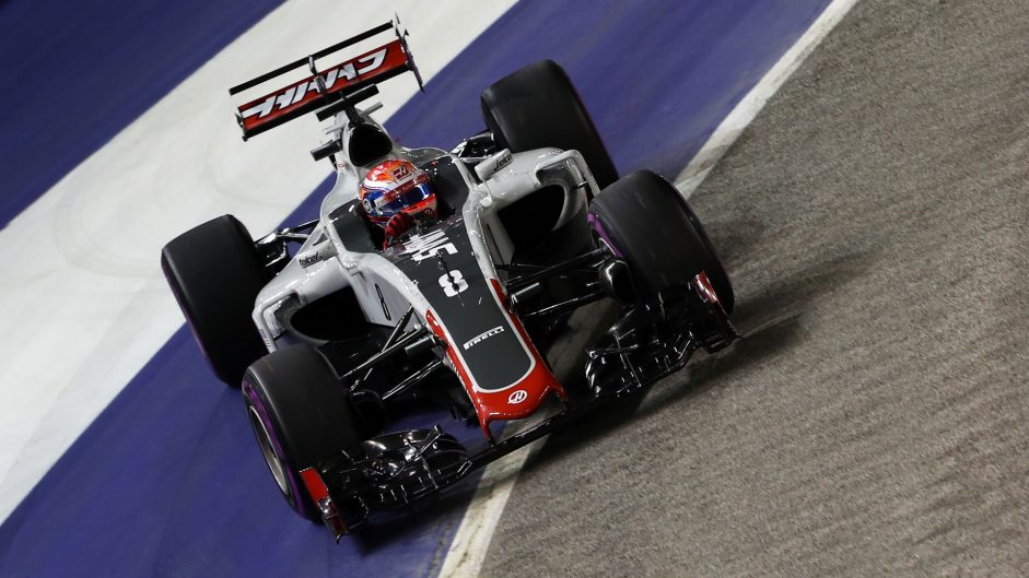 """Grosjean suffers """"the worst Friday you could imagine"""""""