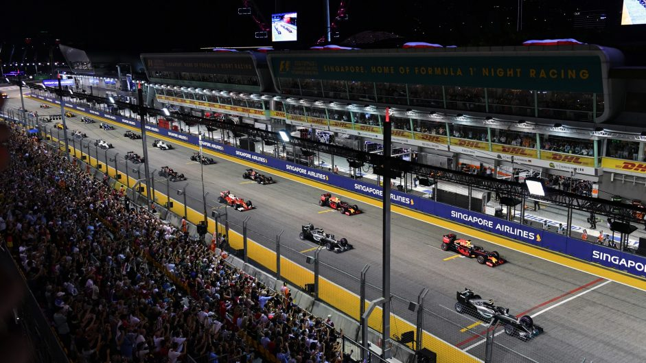 2016 Singapore Grand Prix driver ratings