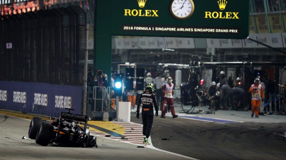Nico Hulkenberg, Force India, Singapore, 2016