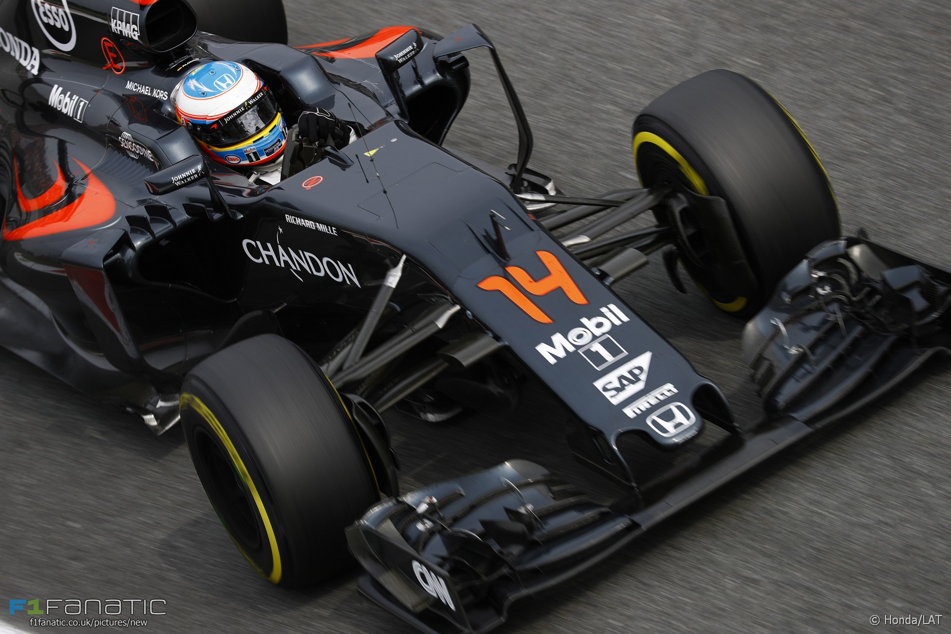 Fernando Alonso, McLaren, Monza, 2016