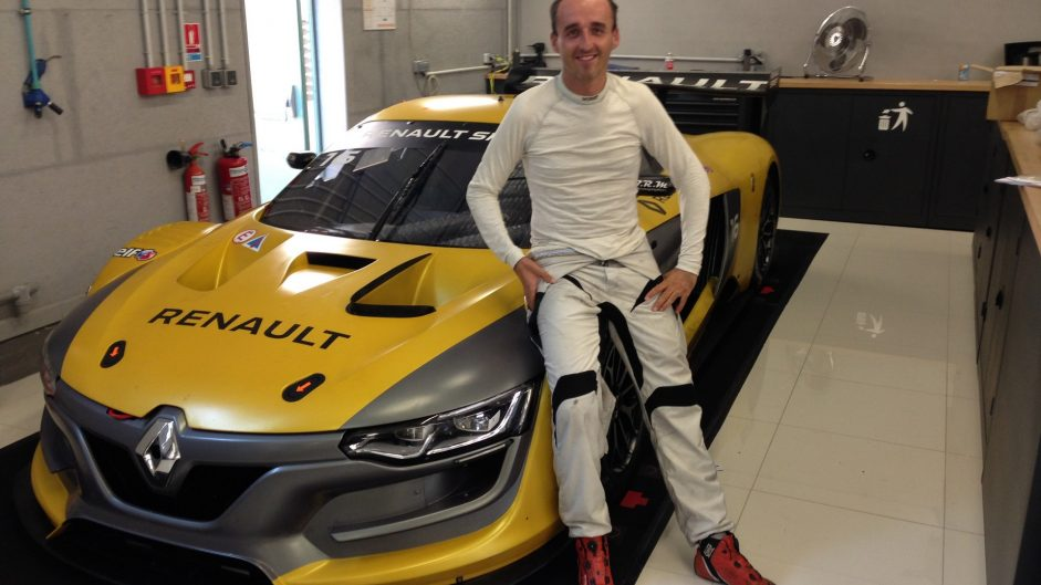 Kubica to return to racing at Spa in Renault series