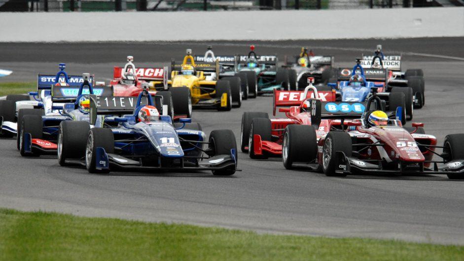 Last-lap position swap decides Indy Lights title