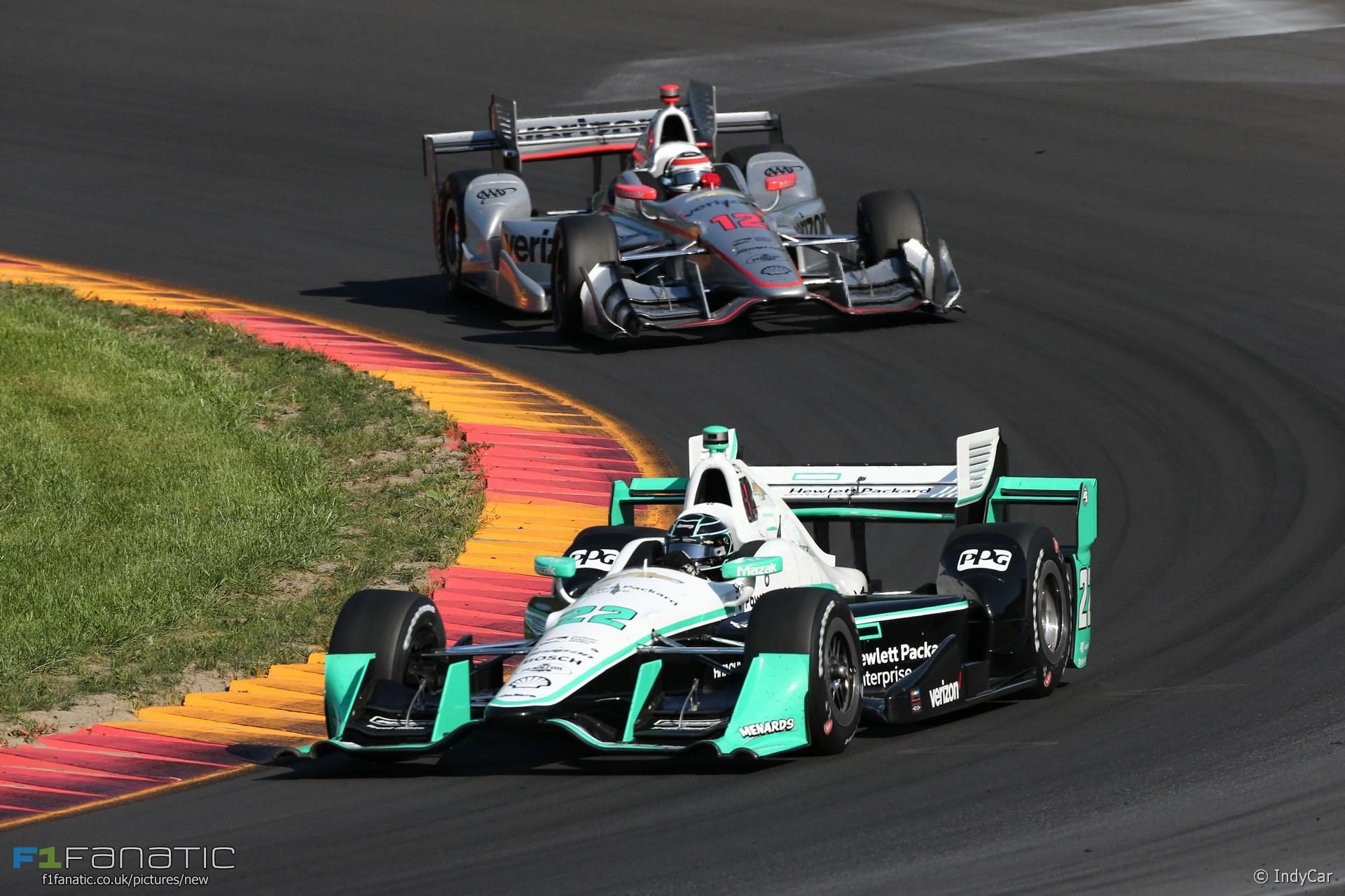 Simon Pagenaud, Will Power, IndyCar, Watkins Glen, 2016