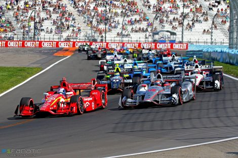 Start, IndyCar, Watkins Glen, 2016
