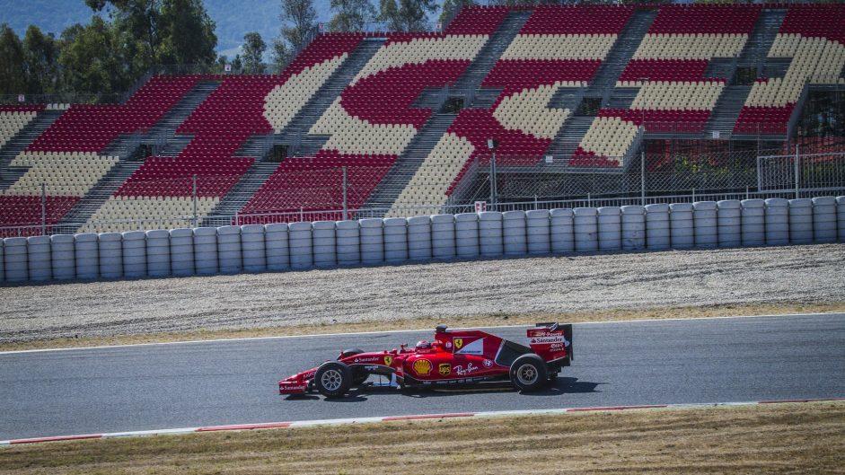 Kimi Raikkonen, Ferrari, Circuit de Catalunta, 2016
