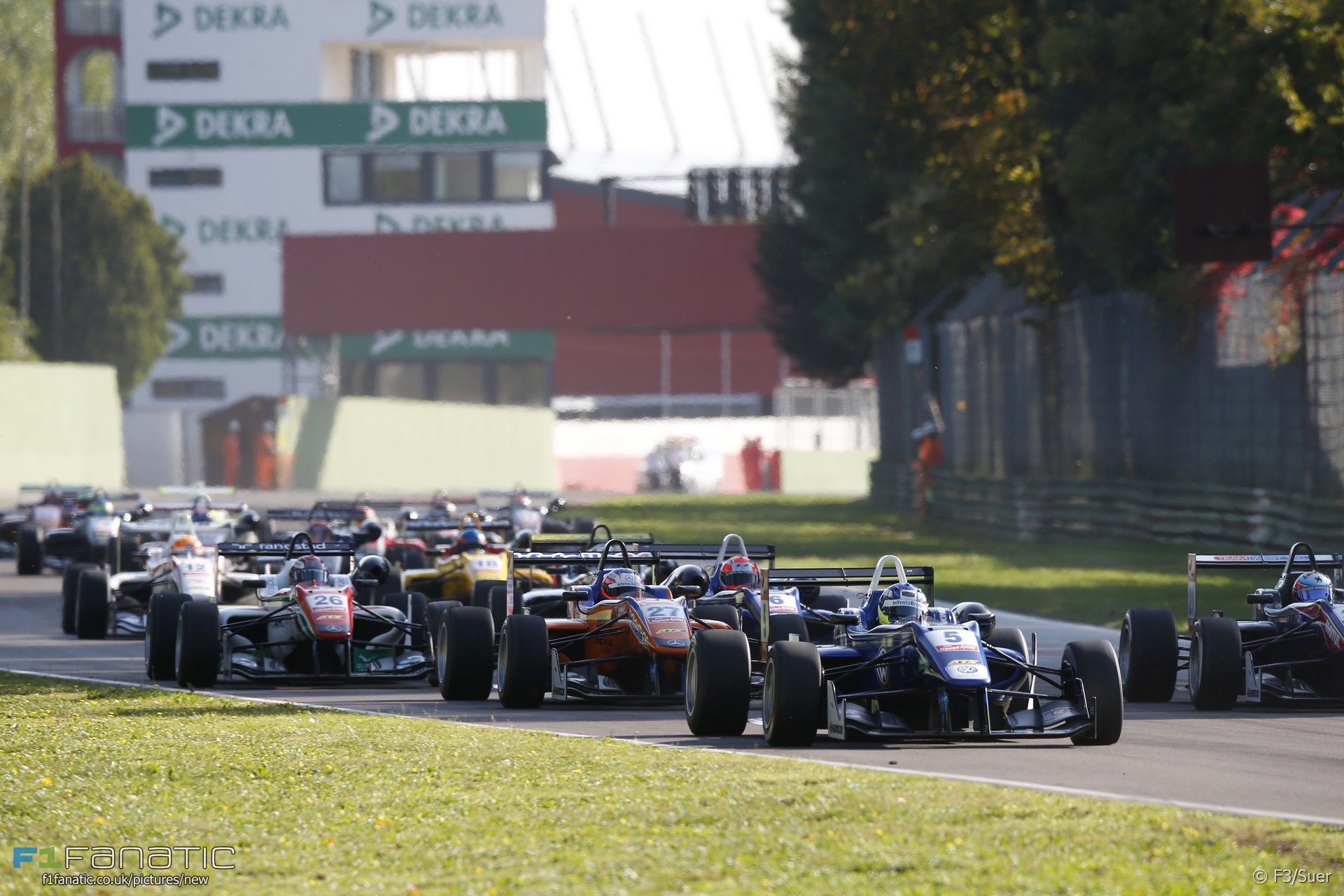Start, Imola, European Formula Three, 2014