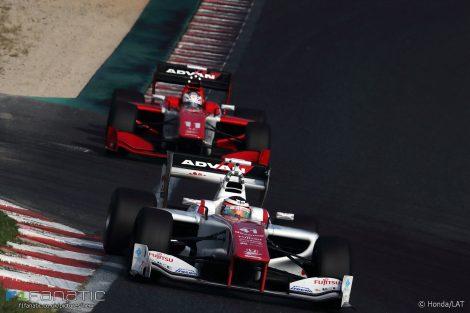 Stoffel Vandoorne, Japanese Super Formula, Okayama, 2016