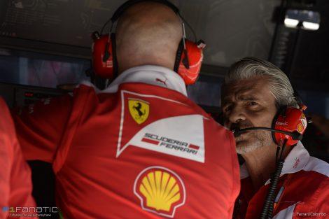 Maurizio Arrivabene, Ferrari, Autodromo Hermanos Rodriguez, 2016