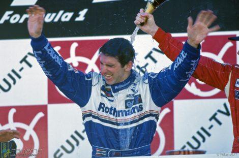 Damon Hill, Suzuka, 1996