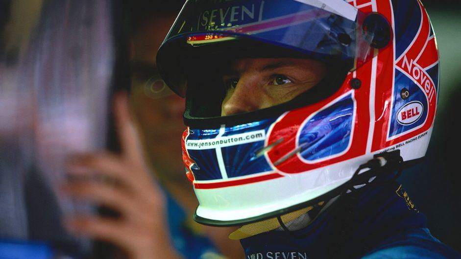 Jenson Button, Renault, Hockenheimring, 2002