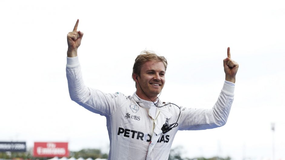 Second Driver of the Weekend win for Rosberg