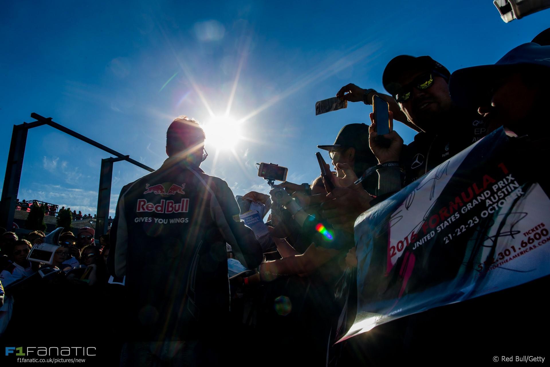 Daniil Kvyat, Toro Rosso, Circuit of the Americas, 2016