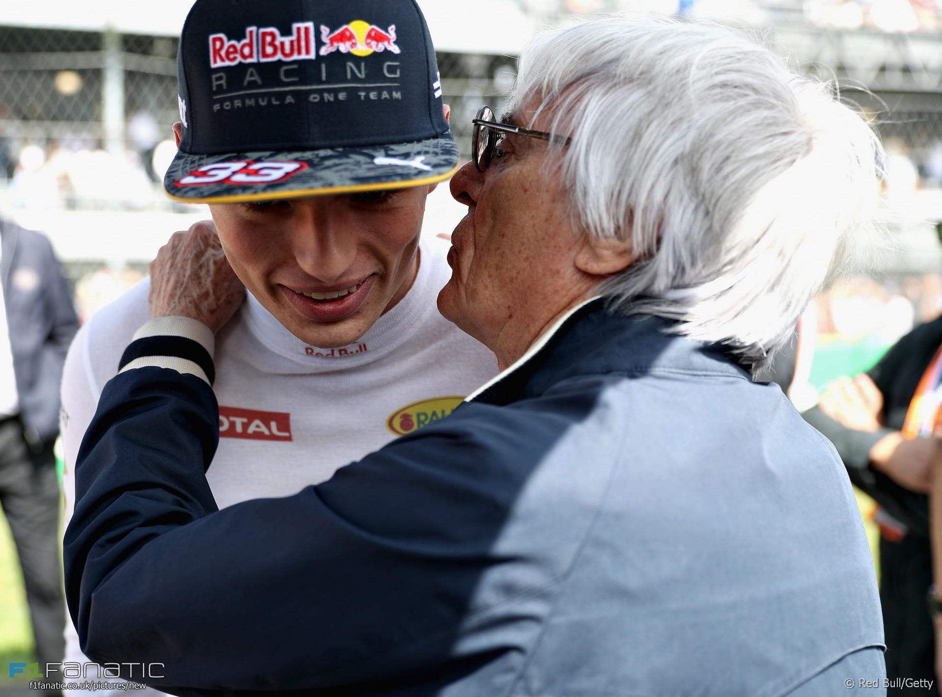 Max Verstappen, Bernie Ecclestone, Autodromo Hermanos Rodriguez, 2016