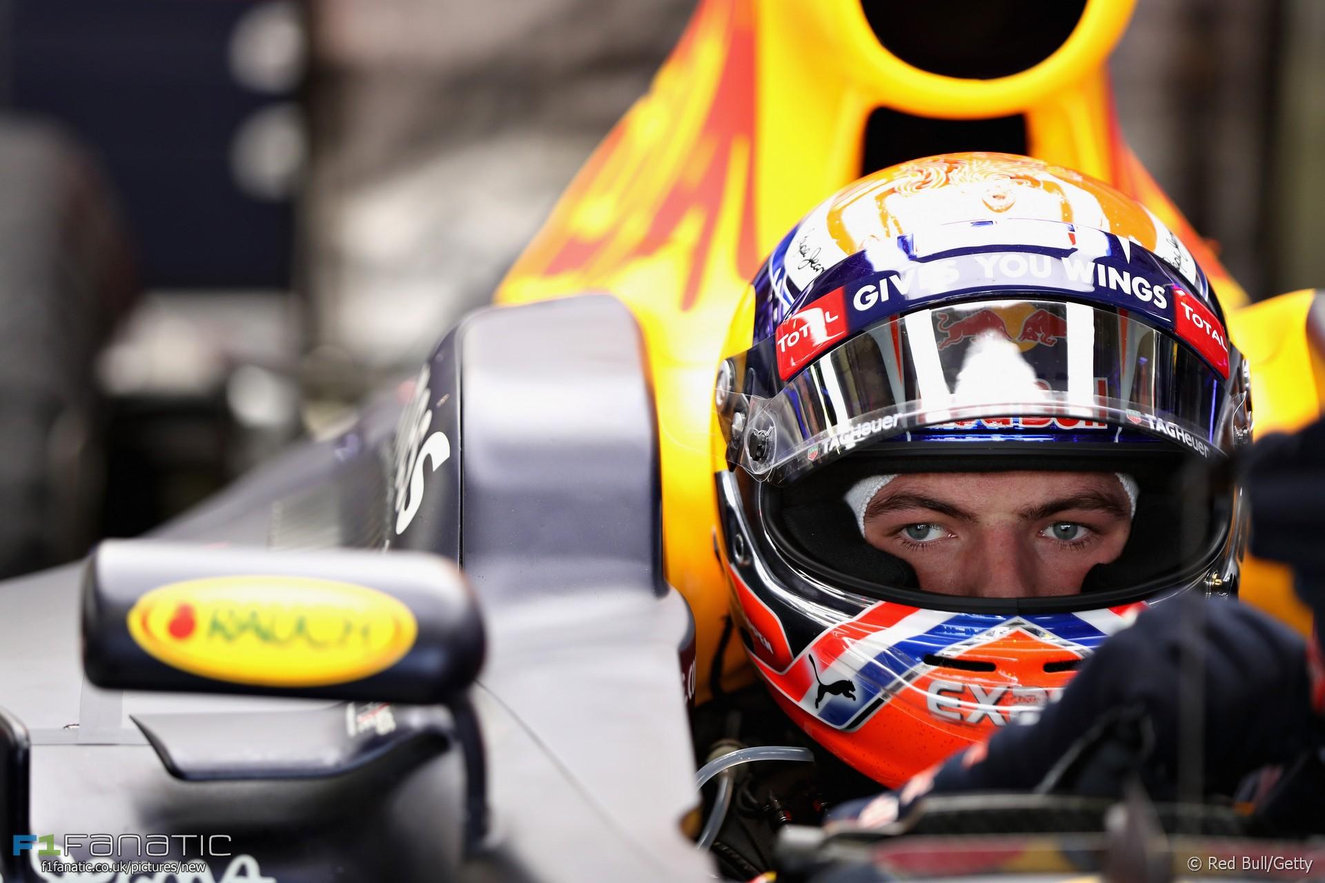 Max Verstappen, Red Bull, Autodromo Hermanos Rodriguez, 2016