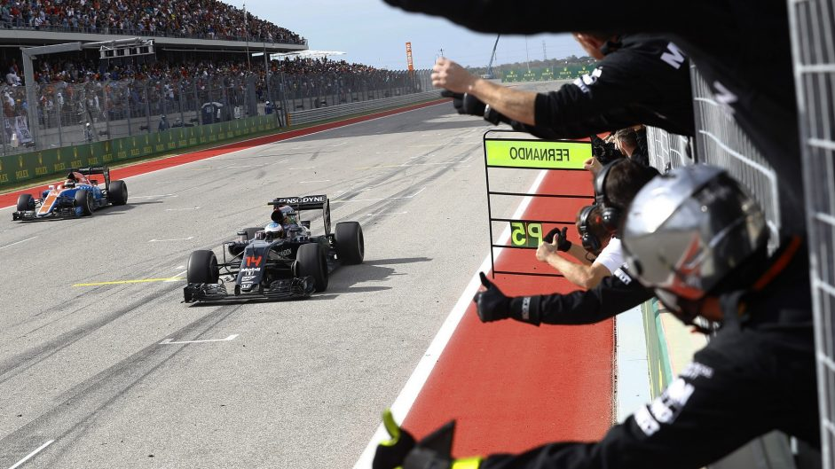 Alonso beats Sainz to Driver of the Weekend win