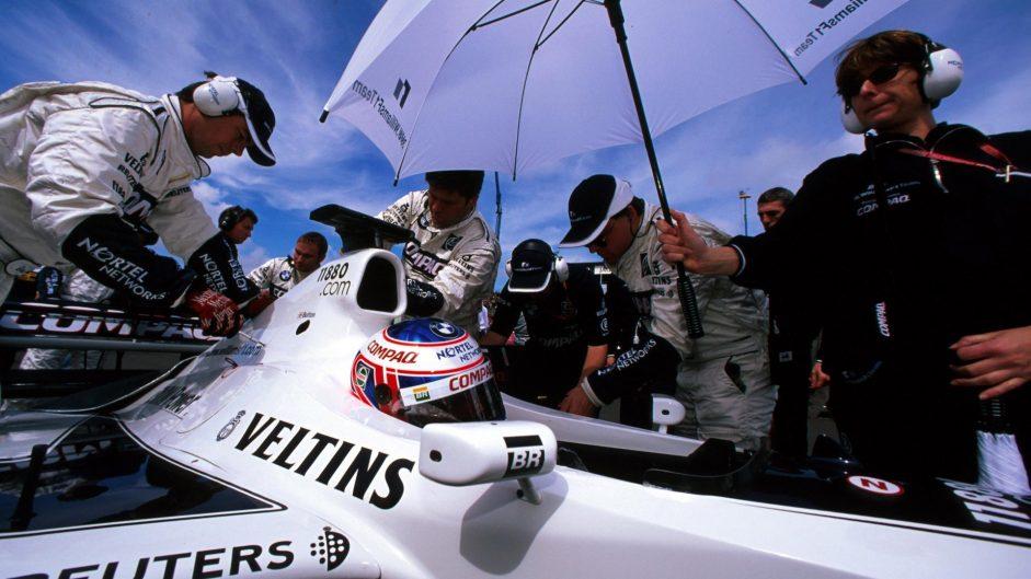 Jenson Button, Williams, Silverstone, 2000