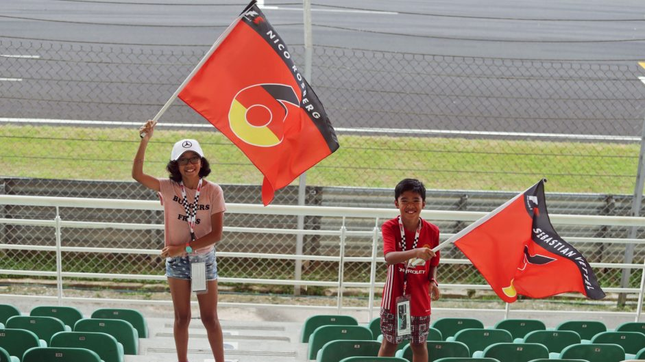 Nico Rosberg fan, Sepang International Circuit, 2016