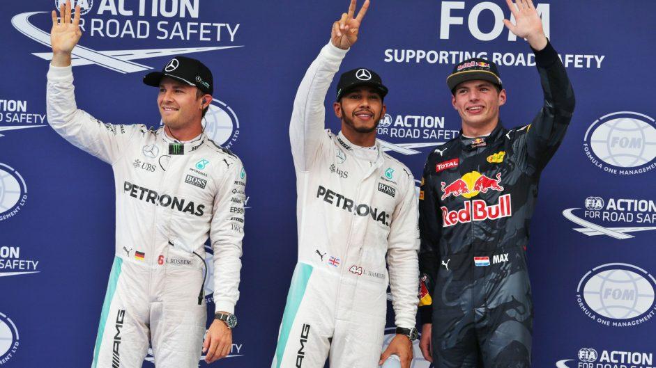 Hamilton storms to Sepang pole position