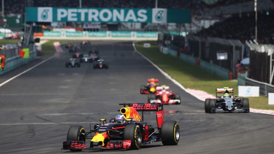 2016 Malaysian Grand Prix race result