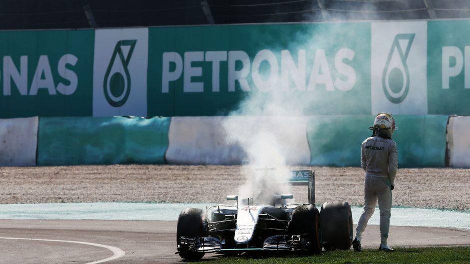 Mercedes reveal why Hamilton's engine failed