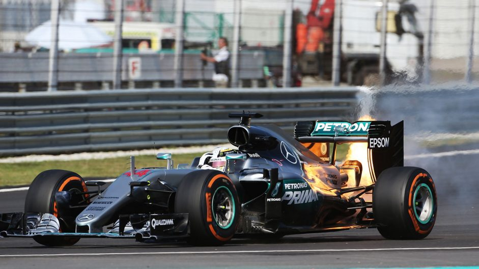 """Hamilton says """"something just doesn't feel right"""" after latest engine failure"""