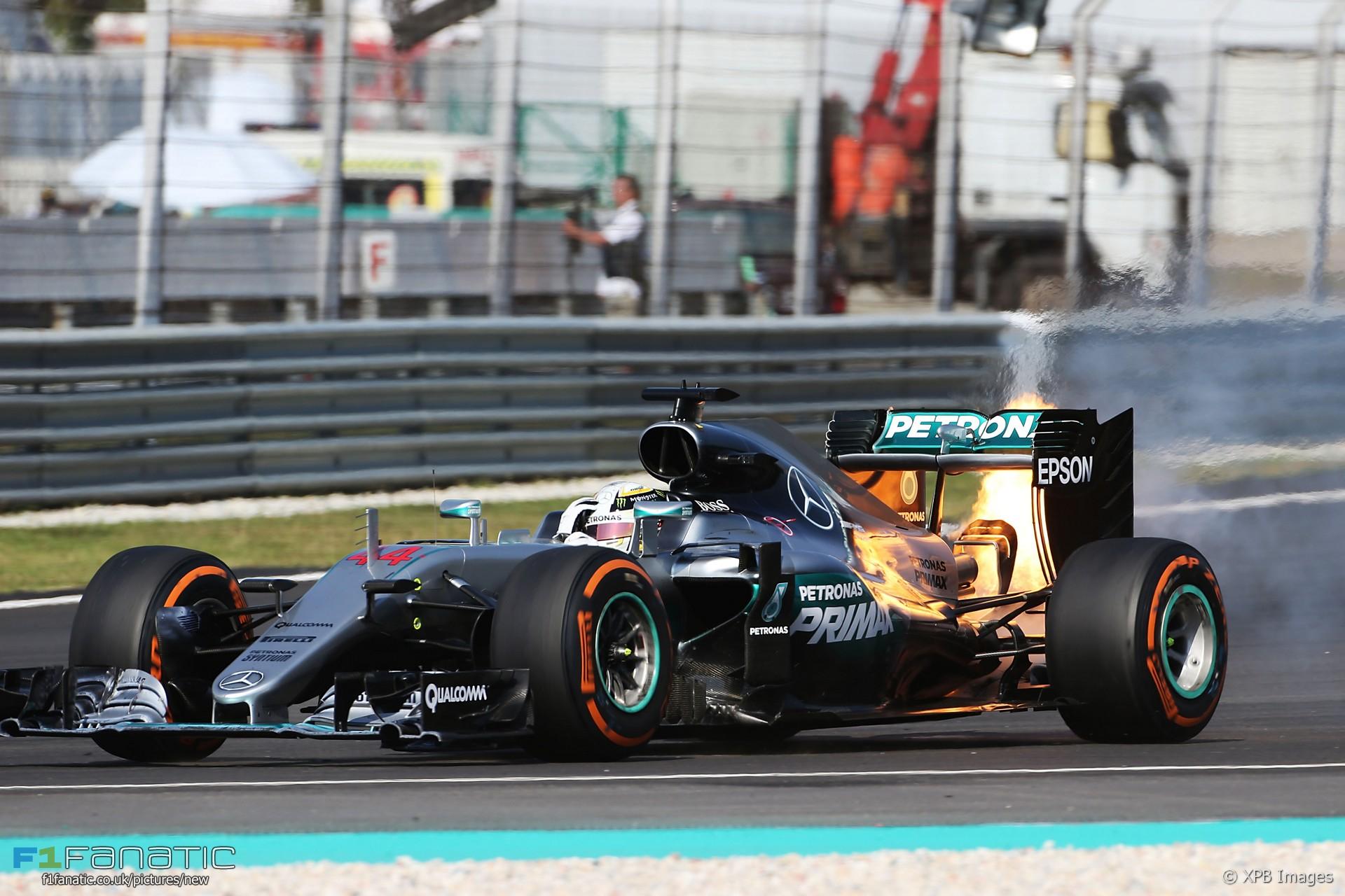 Lewis Hamilton, Mercedes, Sepang International Circuit, 2016