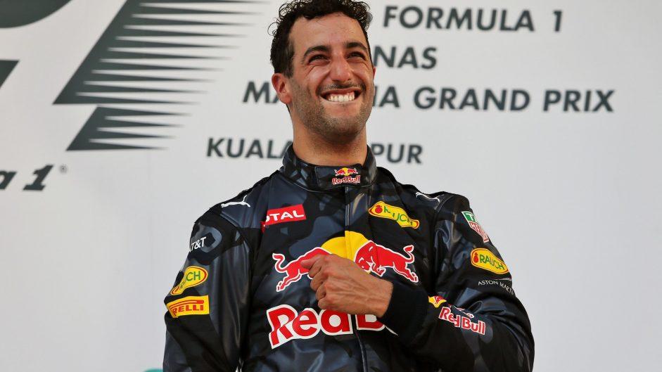 Ricciardo dedicates Malaysia victory to Bianchi
