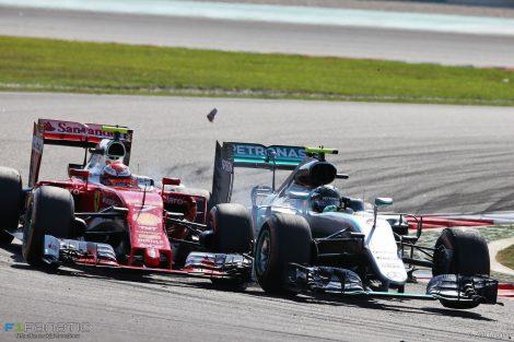 Kimi Raikkonen, Nico Rosberg, Sepang International Circuit, 2016