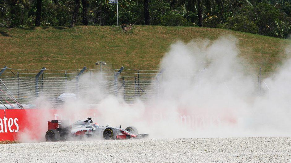 Grosjean had no warning before brake failure