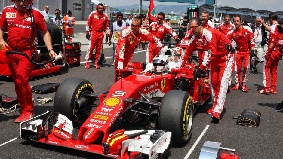 Ferrari go more aggressive with Malaysia tyre choice