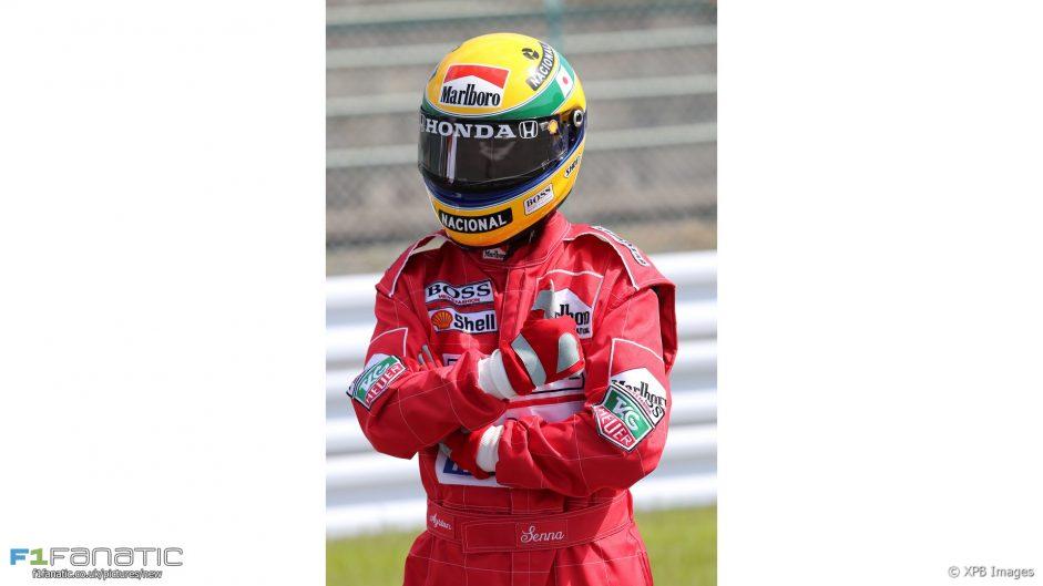 Ayrton Senna fan, Suzuka, 2016