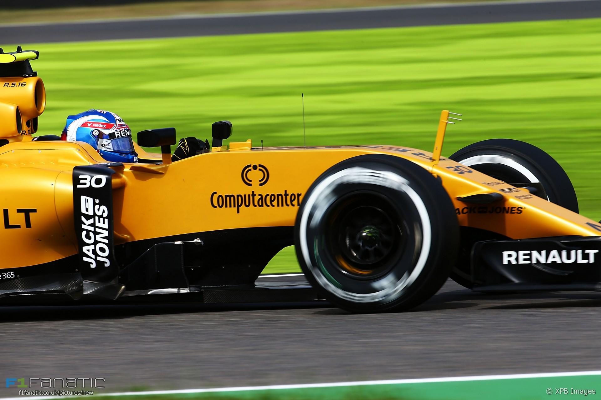 Jolyon Palmer, Renault, Suzuka, 2016