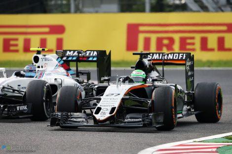 Nico Hulkenberg, Force India, Suzuka, 2016