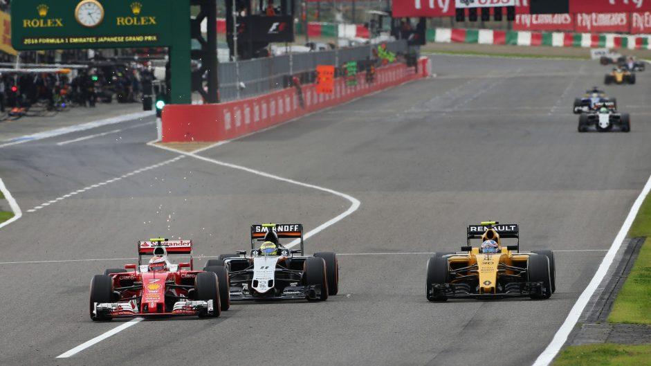Kimi Raikkonen, Ferrari, Suzuka, 2016