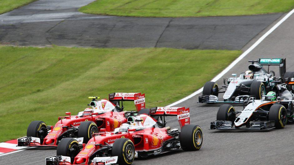 Vettel: Blue flags harmed battle with Hamilton