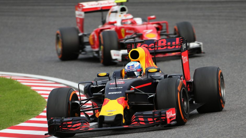Ricciardo rues starting on damp side after Raikkonen penalty