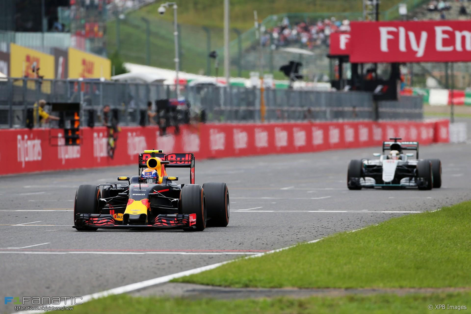 Max Verstappen, Red Bull, Suzuka, 2016