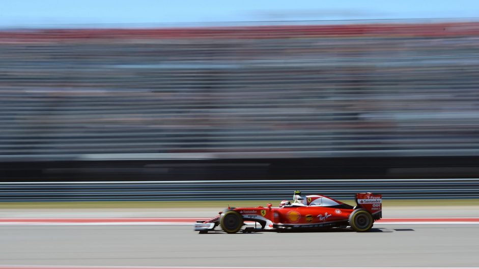 Kimi Raikkonen, Ferrari, Circuit of the Americas, 2016