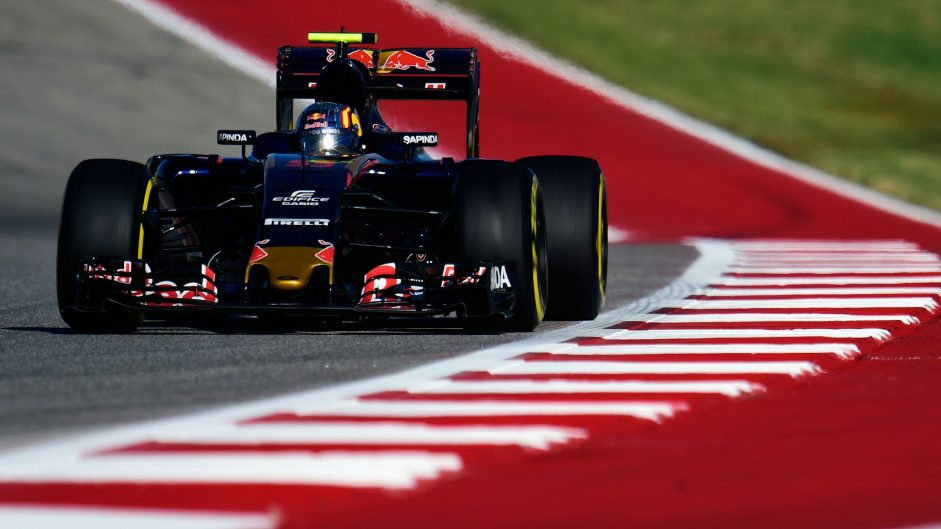 Carlos Sainz Jnr, Toro Rosso, Circuit of the Americas, 2016