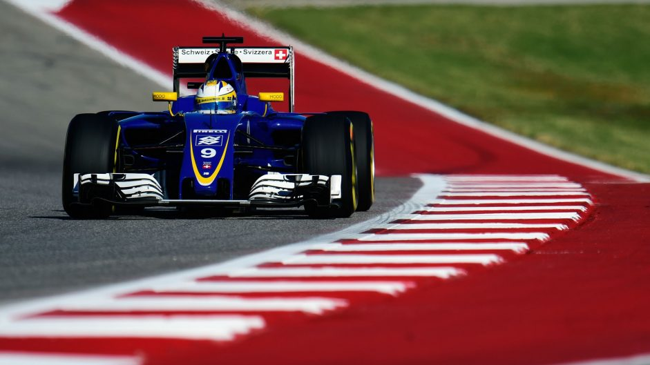 Marcus Ericsson, Sauber, Circuit of the Americas, 2016