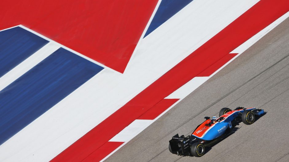 Jordan King, Manor, Circuit of the Americas, 2016