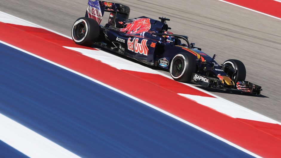 Daniil Kvyat, Toro Rosso, Circuit of the Americas, 2016