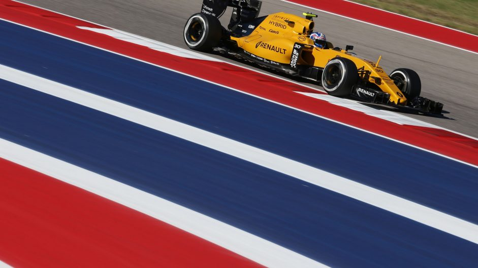 Jolyon Palmer, Renault, Circuit of the Americas, 2016